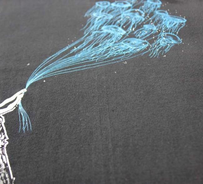 Banksy Jelly Fish Balloon