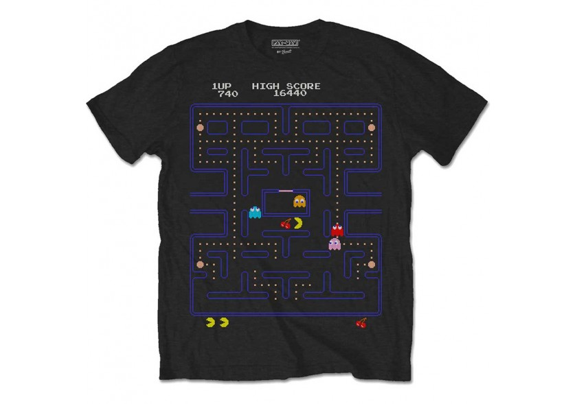 Pac-Man -Game-Screen