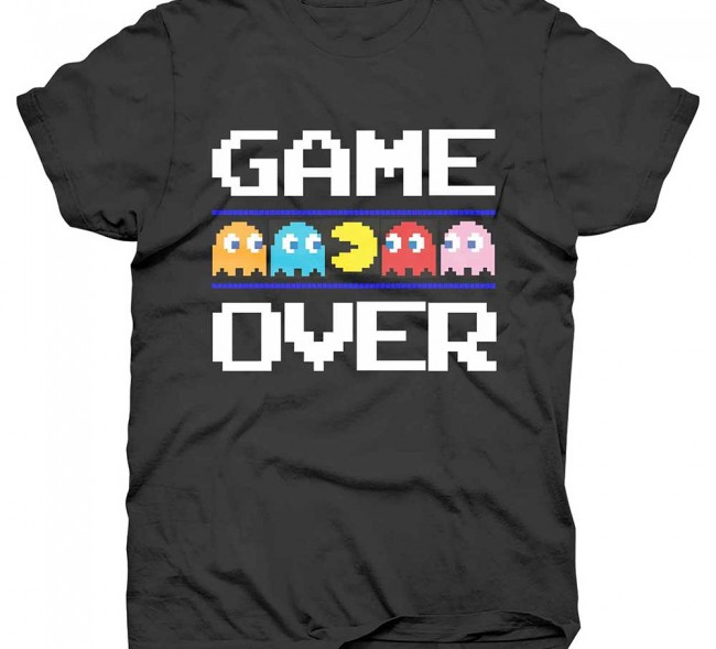 Pac-Man Game Over
