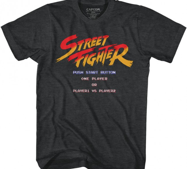 Street Fighter Star Screen
