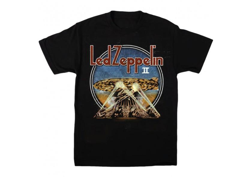 Led Zeppelin -LZ2 Search Lights T-shirt