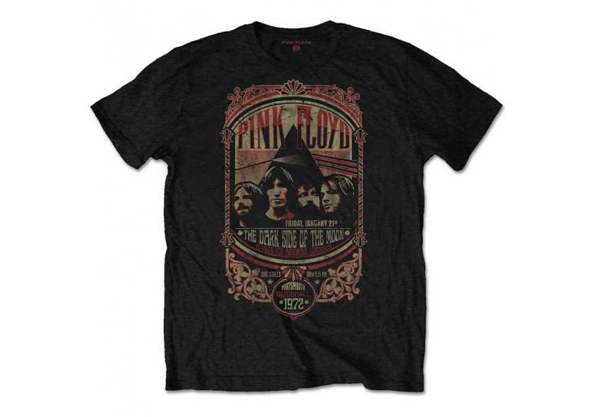 Pink Floyd-Portsmouth 1972  T-shirt